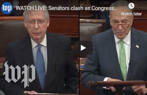 live on senate floor video coronavirus